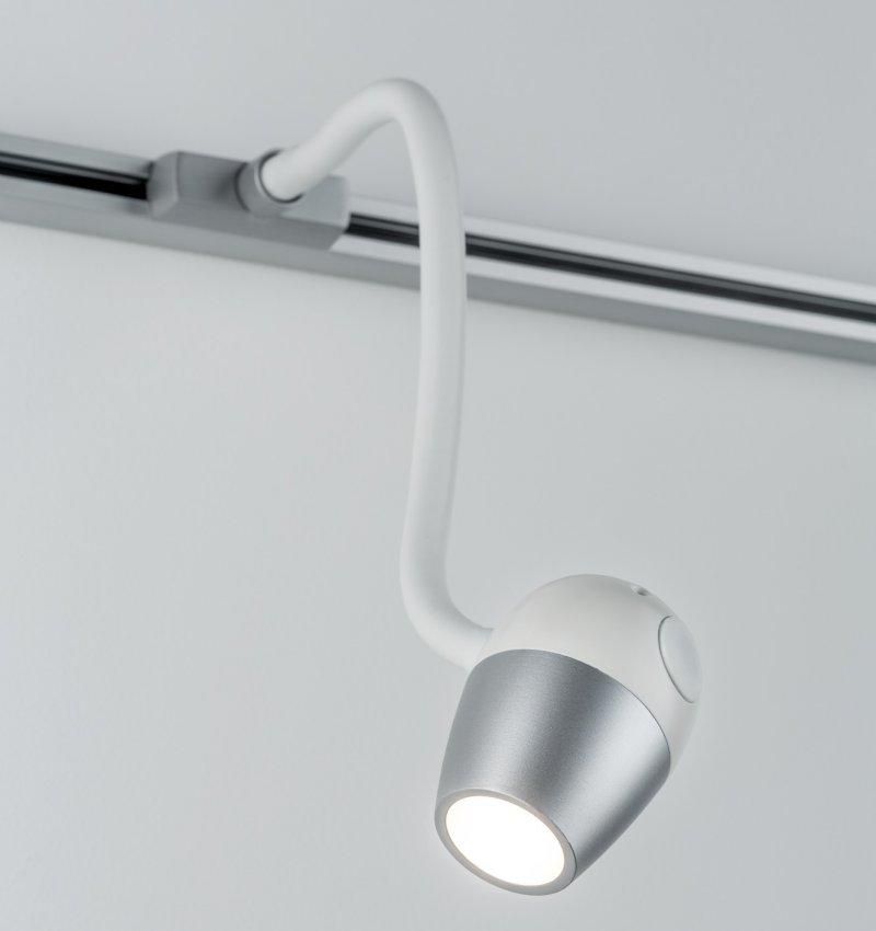 paulmann no 95453 urail led leseleuchte knob chrom matt 5 5w dimmbar eur 49 46 leuchten. Black Bedroom Furniture Sets. Home Design Ideas