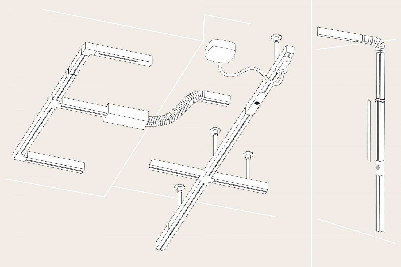schienensystem stromschienen vom markenhersteller. Black Bedroom Furniture Sets. Home Design Ideas