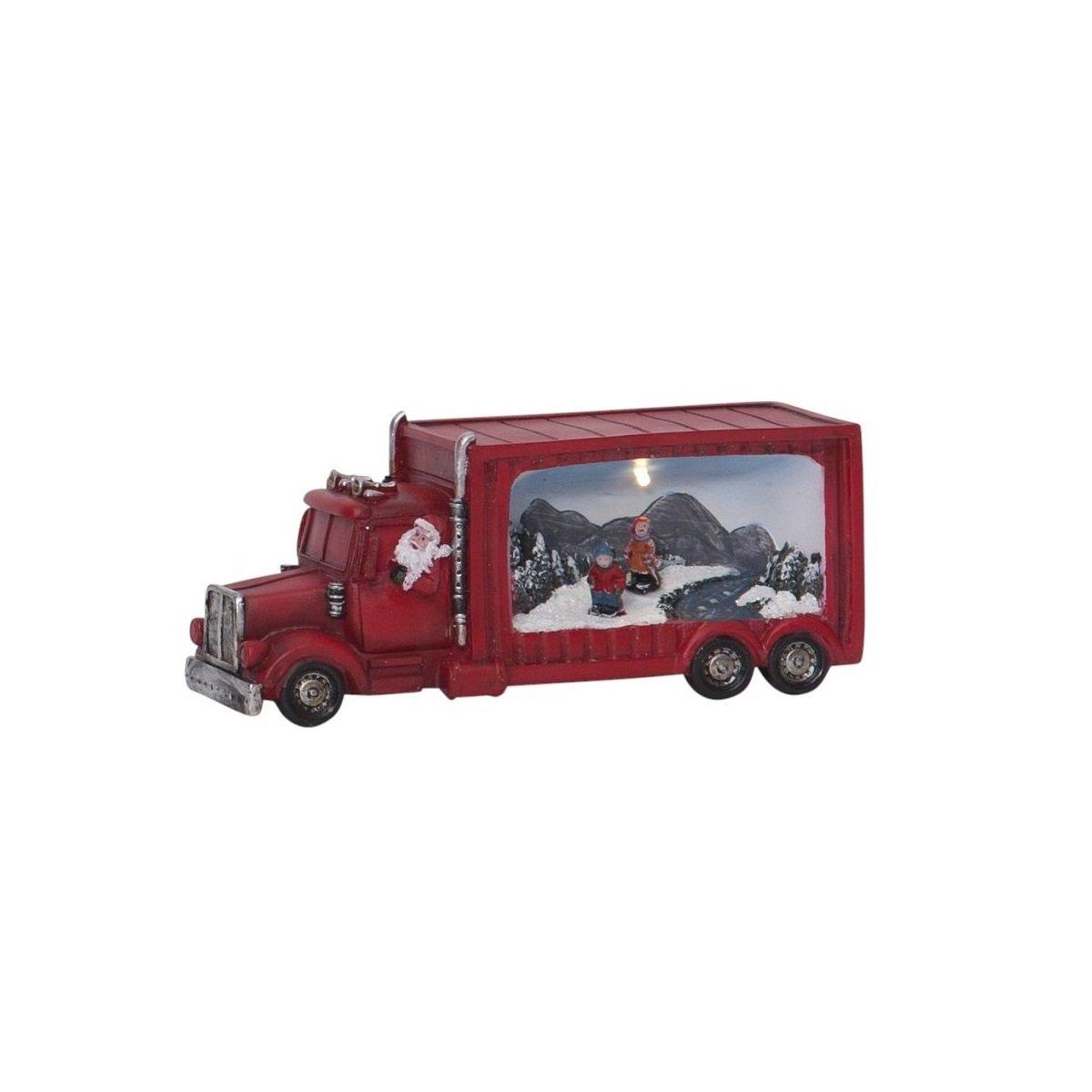 Papiersterne Weihnachtsbeleuchtung.Led Weihnachtsfigur Merryville Santa Im Truck Nr 992 23