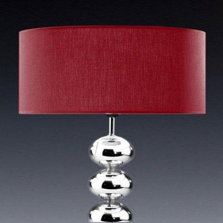 Glas Rot Kristall Trommelförmig D16 Edition Rund Lampenschirm Baumwolle byYgIv7f6