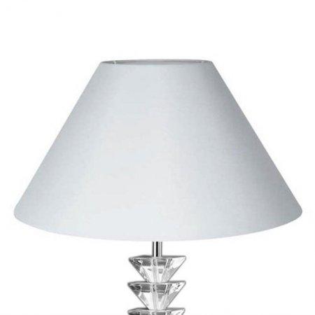 lampenschirm edition glas kristall k2 konisch rund wei. Black Bedroom Furniture Sets. Home Design Ideas