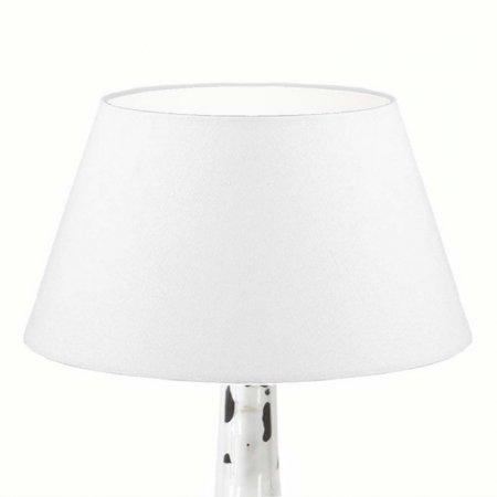 lampenschirm edition glas kristall k4 konisch rund wei. Black Bedroom Furniture Sets. Home Design Ideas